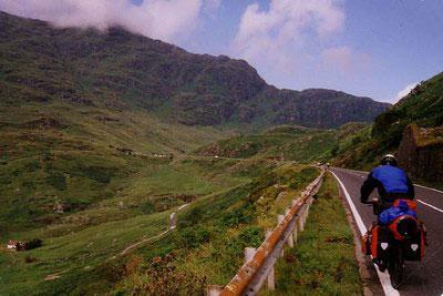 Schottland - Passhöhe
