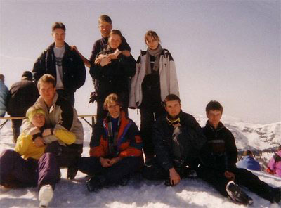 Steinplatte - Gruppenbild