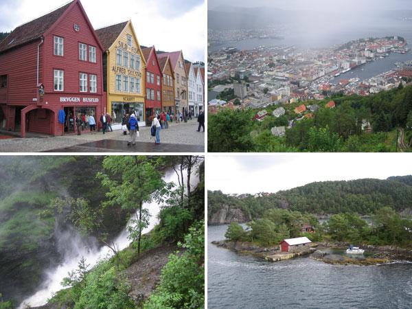 Skandinavien-Tour Bergen