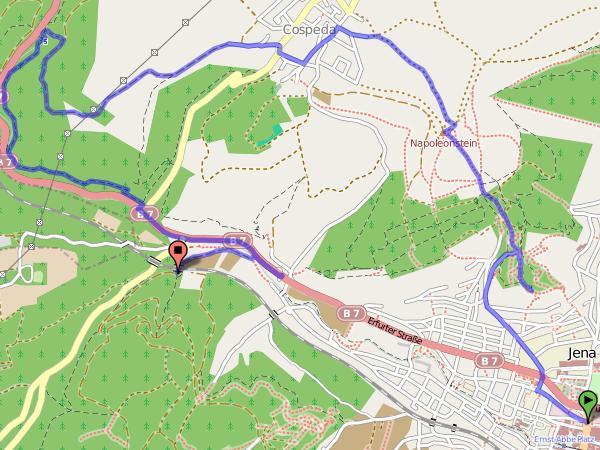 Himmelfahrt - Karte
