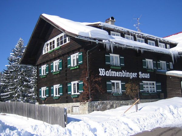 Wintersport Kleinwalsertal - Walmendinger Haus