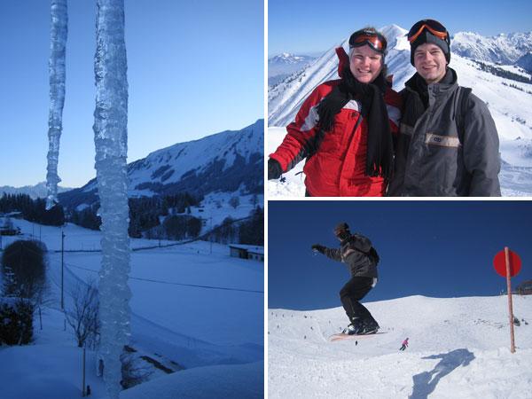 Wintersport Kleinwalsertal - Kanzelwand