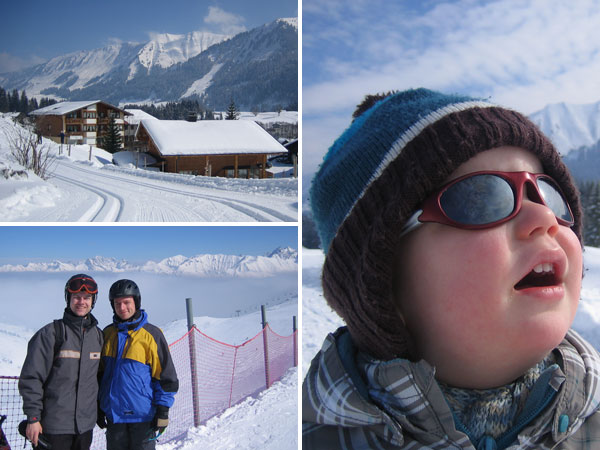 Wintersport Kleinwalsertal - Sonne pur