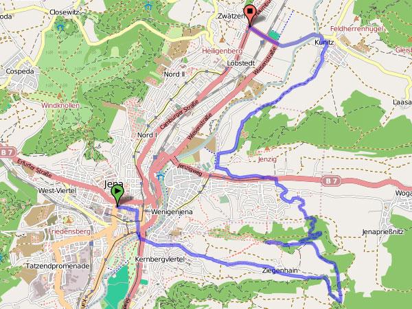 Himmelfahrt 2010 - Karte