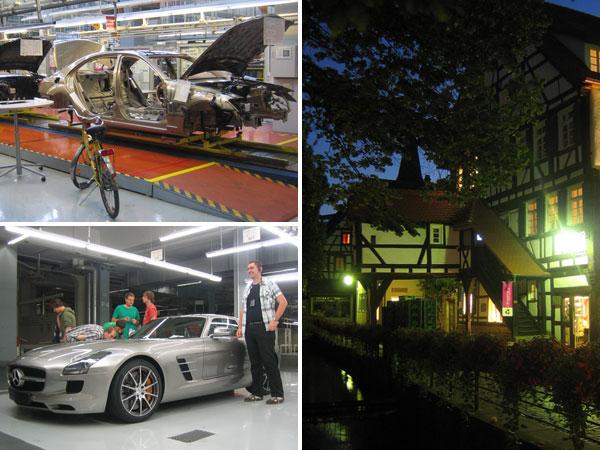 Lehrstuhlexkursion Daimler