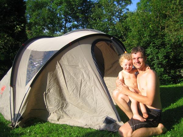 Zelten auf der Alm