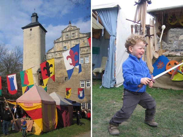Mittelalterfest Burg Ranis