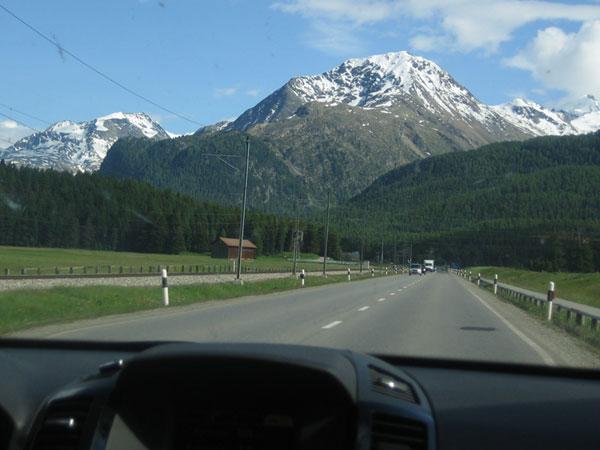 Radtour Engadin 2011 - Tag 1
