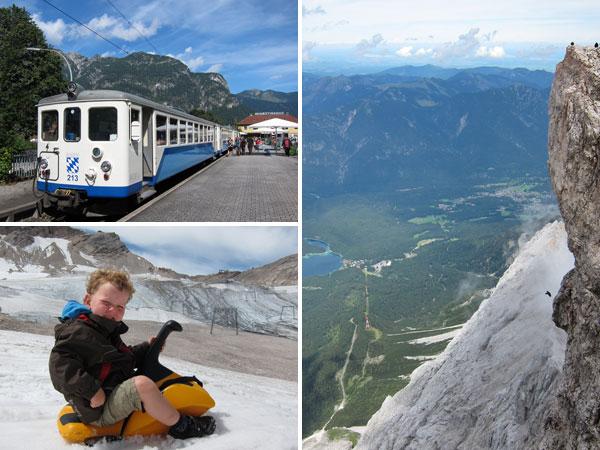 Wanderurlaub Alpen - Zugspitze