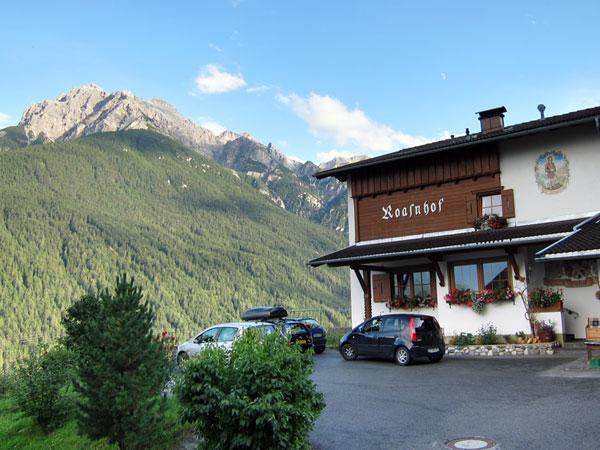 Wanderurlaub Alpen - Bauernhof