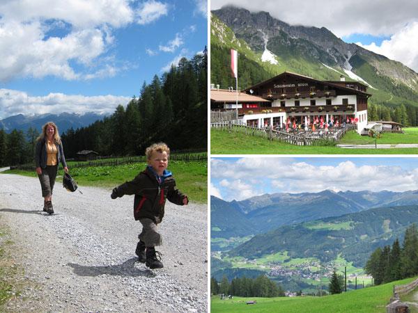 Wanderurlaub Alpen - Schlicker Alm