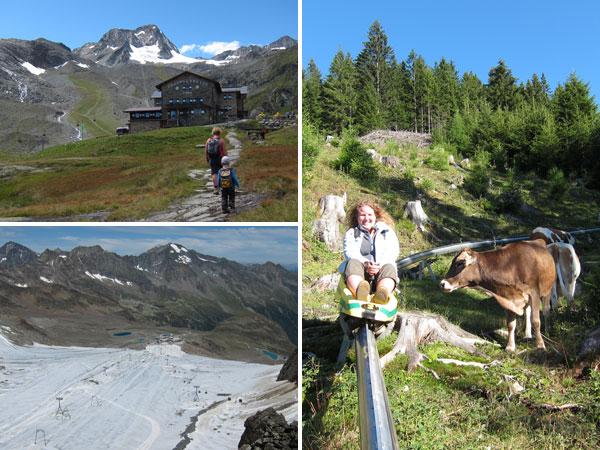 Wanderurlaub Alpen - Stubaier Gletscher