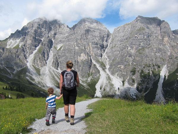Wanderurlaub Alpen - Schlick