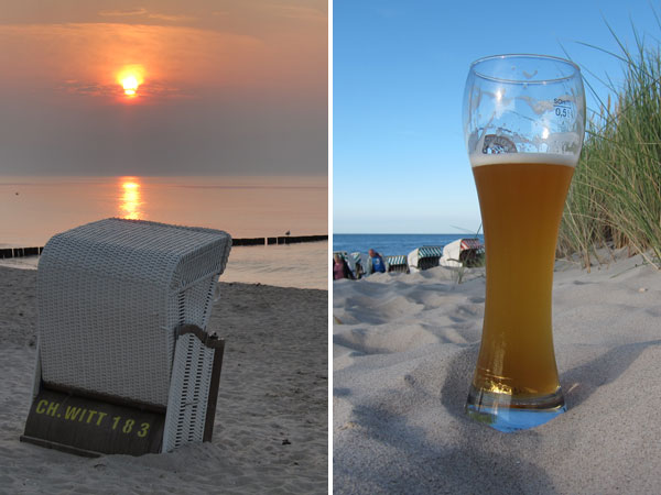 Ostsee - Sonne, Strand und Weizen