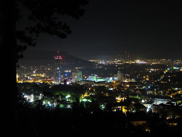 Jena bei Nacht