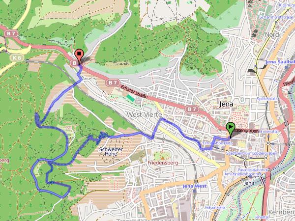 Himmelfahrt 2012 - Karte