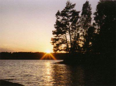 Dalsland - Abendstimmung