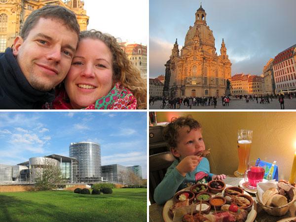 Hochzeitstag in Dresden
