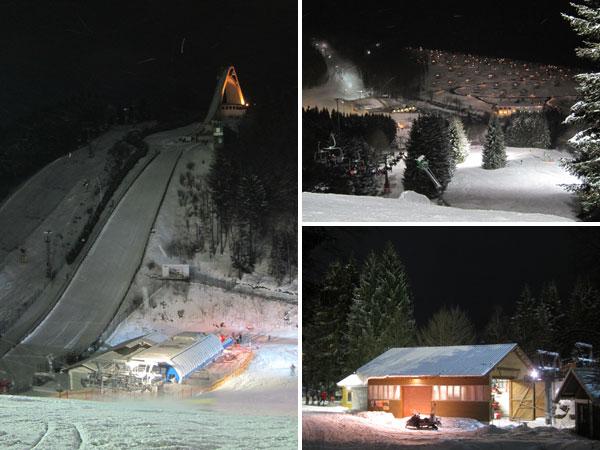 Flutlichtfahren in Winterberg