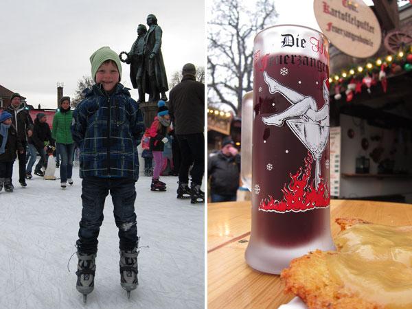 Schlittschuhlaufen Weimar