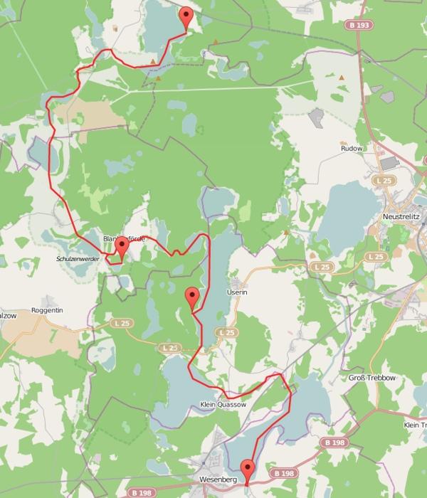 Mecklenburg - Karte