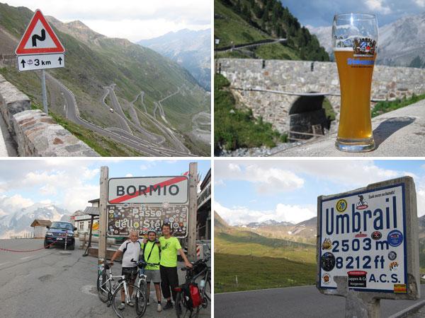 Radtour Engadin 2015 Tag 1