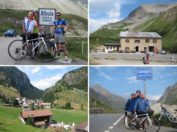 Radtour Engadin 2015 Tag 2