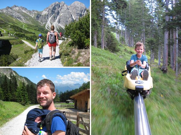Wanderurlaub Stubai - Tag 2