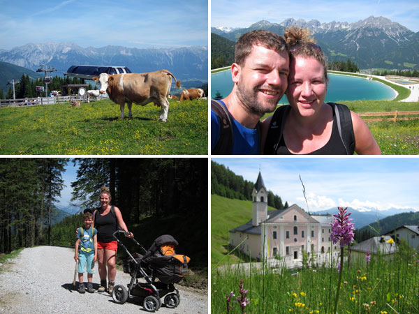 Wanderurlaub Stubai - Tag 3