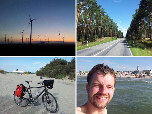 Radtour Jena-Rostock Sonntag