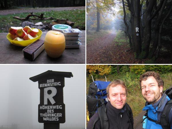 Rennsteig-Wanderung Tag 2