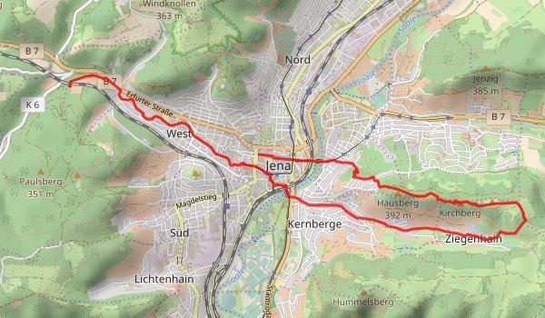 Himmelfahrt 2017 - Karte