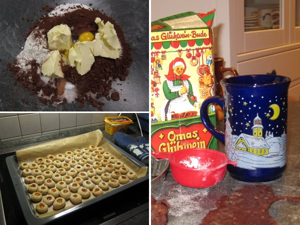Weihnachts-Bäckerei