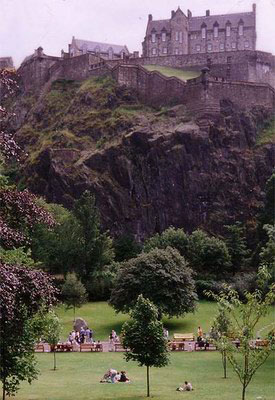 Schottland - Edinburg Castle